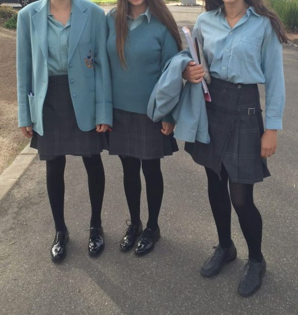 French exchange students at Geelong Grammar